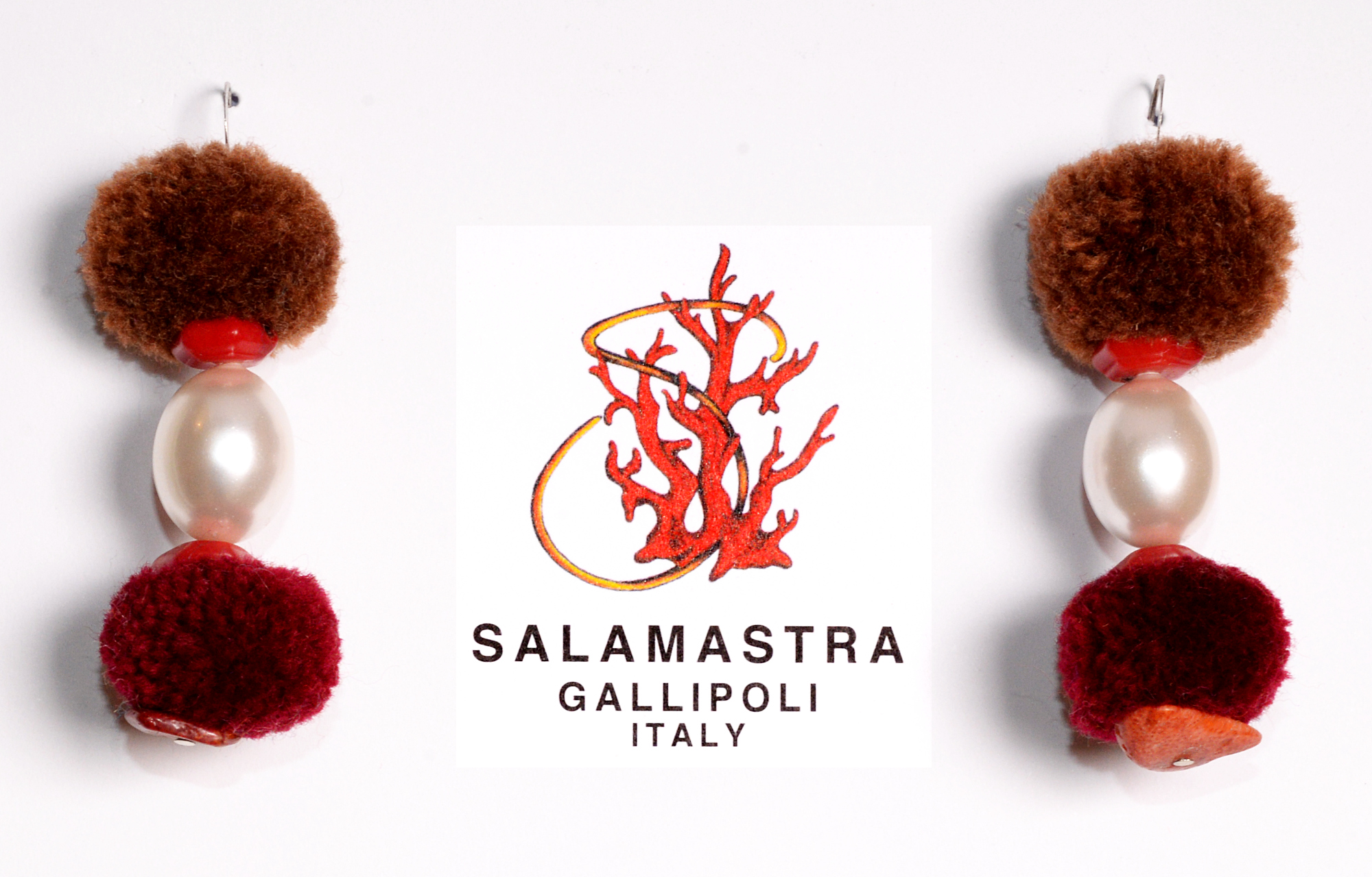 Pompom Earrings - 04