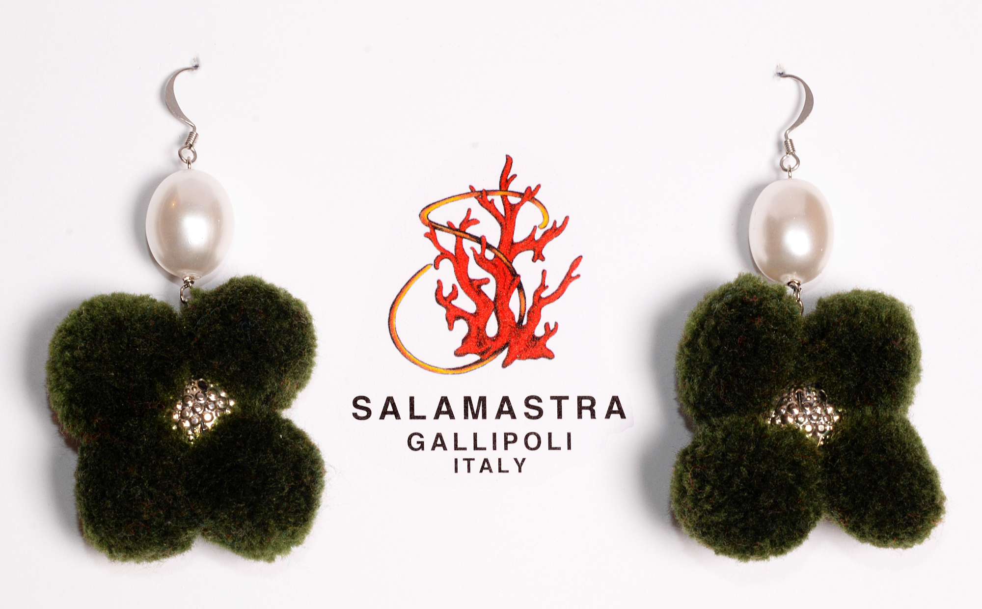 Pompom Earrings - 12